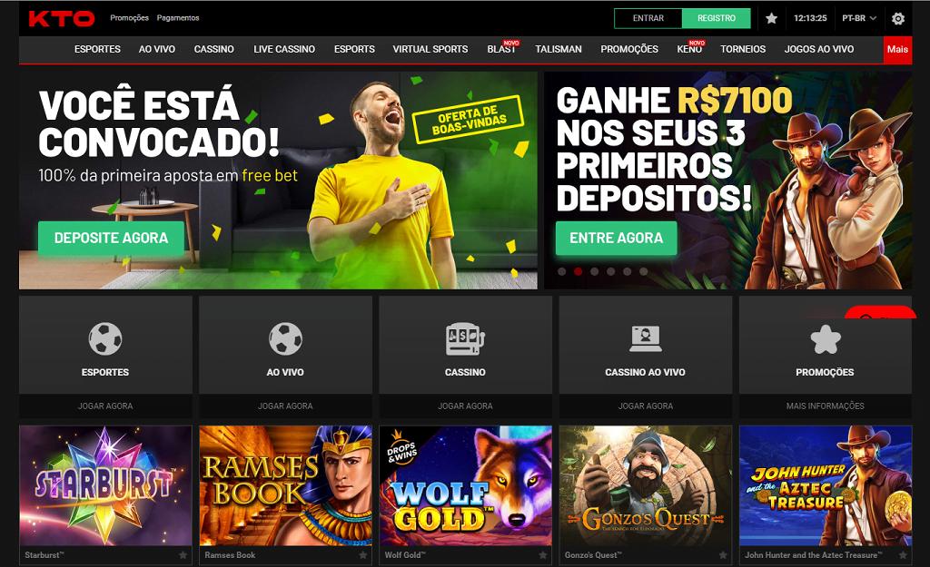 KTO site de apostas página inicial