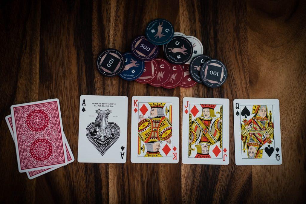sequência alta de poker